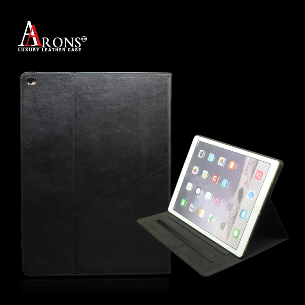 High quality genuine leather tablet case for ipad pro