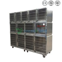 Hot selling high quality stainless steel veterinary pet cage
