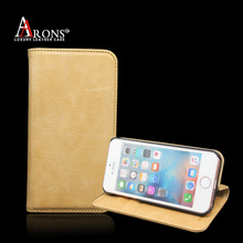 Guangzhou mobile phone case brank plastic leather wallet cell phone case for iphone