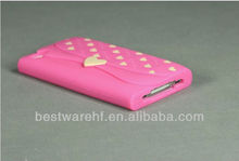 2013 the high quality silicone vans case for iphone 4&4s |silicone rubber case for Iphone5