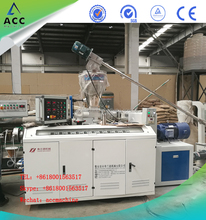 PVC profile making machinery/Plastic PVC profile cable trunk production line