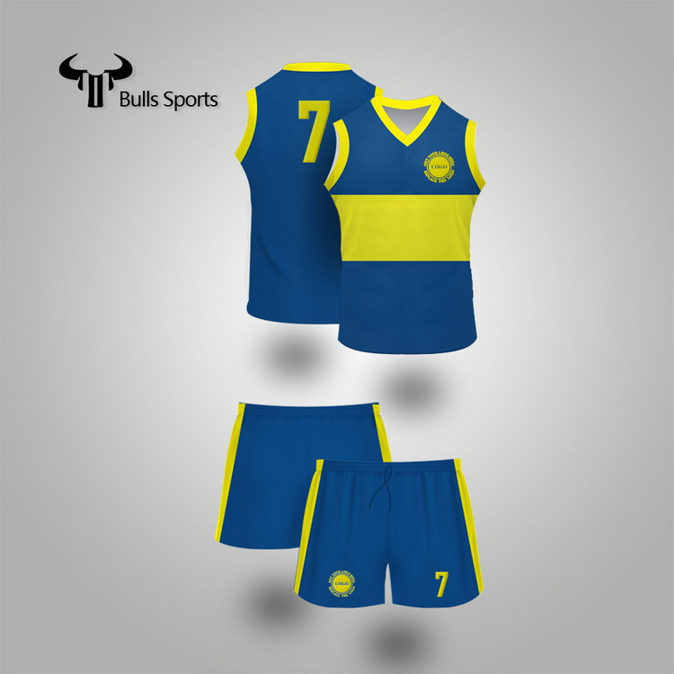 Made in china competitive syria Aussie Rules uniform custom