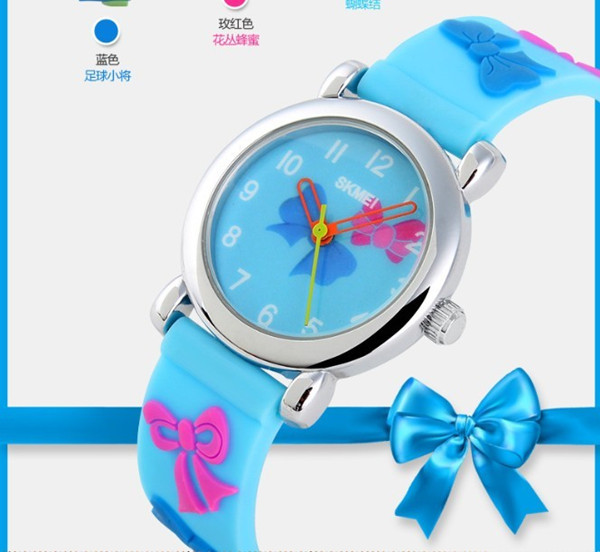 Best Selling New Product!!Waterproof Thin Silicone Strap children plastic digital watch