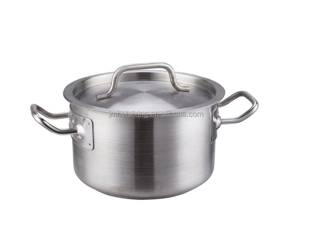 Industrial Stainless Steel Induction Bottom Milk Pot for Bakery Equipment (Tall Body)