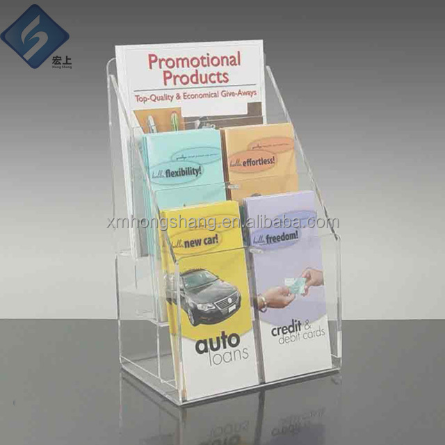 Acrylic file holder hot new design eco-friendly file display stand good quality