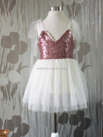 Children clothing sequin dress girls party dress dresses for girls of 7 years old