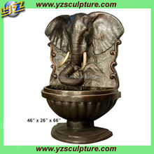 bronze elephant water fountain for sale