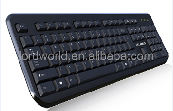 hot selling china OEM factury membrane waterproof wired for logitech k700 wireless keyboard