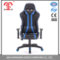 Custom modern swivel racing gaming chair with armrest adjustable