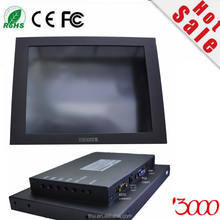 "Open Frame 10.4"" Inch 4:3 800*600 SAW Industrial Touch Screen LCD Monitor Metal Casing Touch Monitor with VGA HDMI DC12v input"
