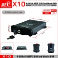 Mini bus car 4 channels security mobile dvr, network ahd taxi mdvr