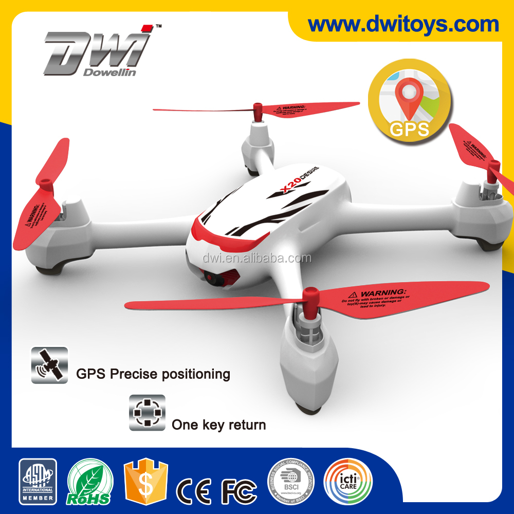 DWI X20 GPS WIFI Drone RC Quadcopter with HD Camera 720P