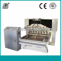 SD-1318 Alibaba 6 years gold supplier cnc carving/engraving/milling/drilling 4 axis cnc router machines