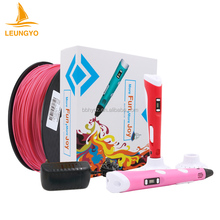 2017 LEUNGYO Fancy cheap price kids digital 3D drawing pen 3d pens printer