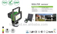 3/6/8 Hours Working Time, 5W/10W/20W/30W/50W, Samsung Lithium Battery, Battery Powered LED Solar Powered Flood Lights