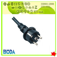 schuko/german plug and Standard Grounding VDE power cable wire