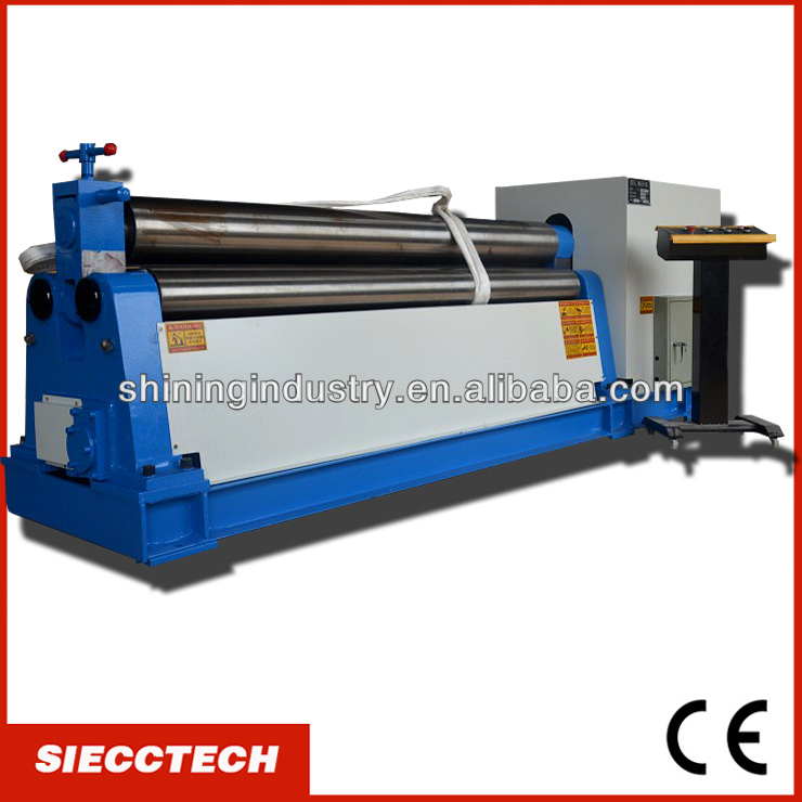 INT'L BRAND:SIECC 3-roller hydraulic steel sheet <strong>rolling</strong> <strong>machine</strong>