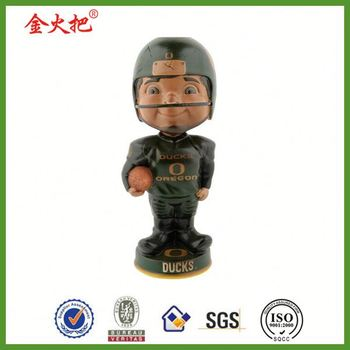 Handmade Promotion polyresin ducks oregon bobblehead