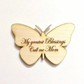 Mother's day gift butterfly fridge magnet