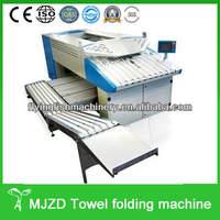 Industrial used automatic towel folding machine