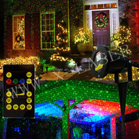 mini laser star holographic laser star projector christmas outdoor star laser projector for Christmas tree/house decoration