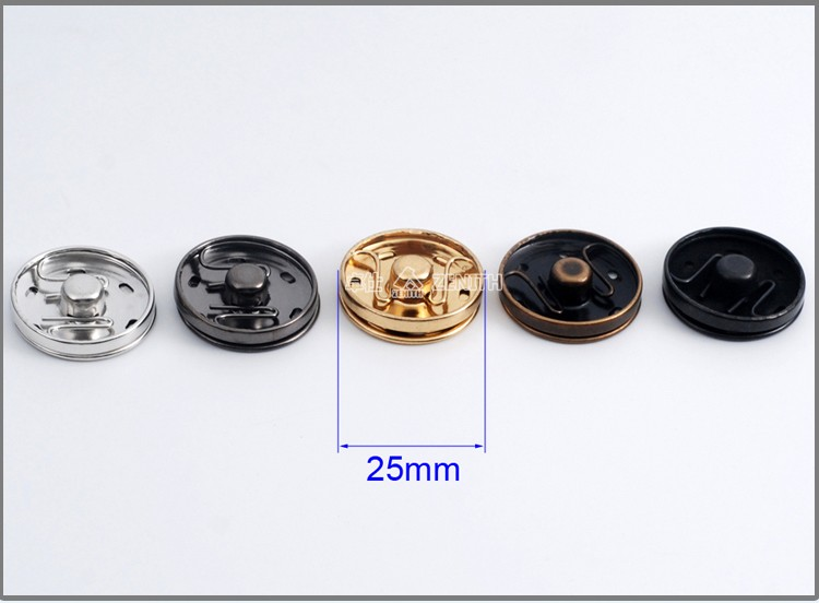 BM10049 Brass Metal Press Button Lock, Snap Press Buttons