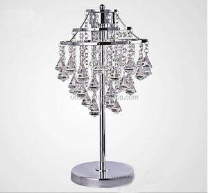 2015 fancy design crystal chandelier table lamp