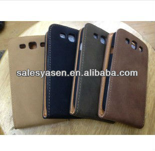 new leather folding wallet case for iphone 5 with stand