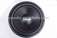 SP-153 4600W 15inch 3 magnet powerful SPL competition car subwoofer