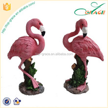 Garden ornament resin hot sale flamingo figurine wholesale