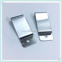 Customized Silver Stainless Steel Money Clip