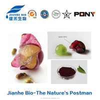 Lower Price Red Grape Skin Extract. Grape Skin Extract Powder/ Natural Antioxidant Grape Peel Extract Resveratrol