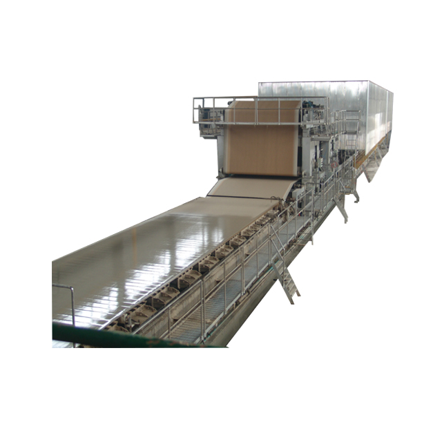 Kraft Paper Jumbo Roll Making Machine/Kraft Paper Production Line To Recycling Waste Paper
