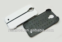 Soft Back Cover Fold Stand Cover Case Silicone Plastic for Samsung Galaxy S4 SIV i9500
