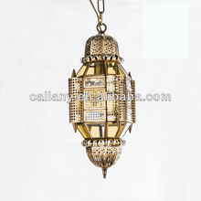 Morocco hanging old fashion pendant lamp