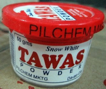Deodorant Powdered Tawas