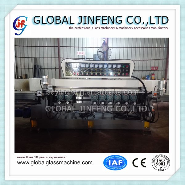 JFB-261 Straight line glass bevel edge grinding and polishing machine