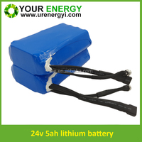high safety 24 volt lithium ion battery for electric scooter