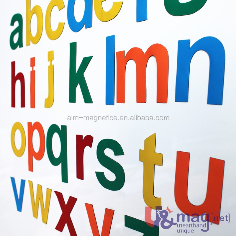 Useful Magnetic English Letters for Kids Alphabet Letters for Fridge