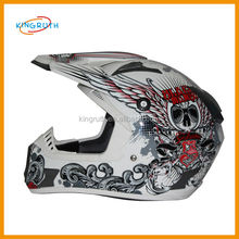 Good ABS full face dirt bike racing motorcycle skull cool full face custom helmet