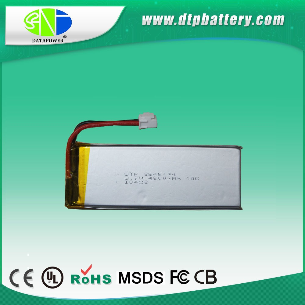 DTP 10.8V 4800mAh li-ion battery packs polymer Lithium battery park for GPS DVD