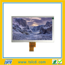 Hot sale LCD supplier 8 inch TFT lcd display 800x480 with touch screen & TTL interface & 50Pins for intelligent application