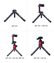 Manbily MT-01 Universal Light Weight Table Mini Tripod With DSLR Video