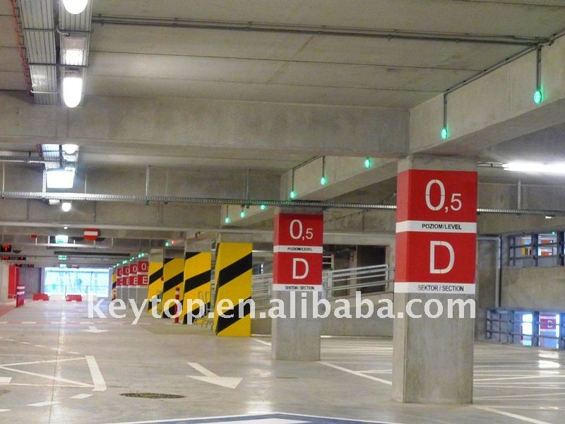 parking space occupancy sensor addressable