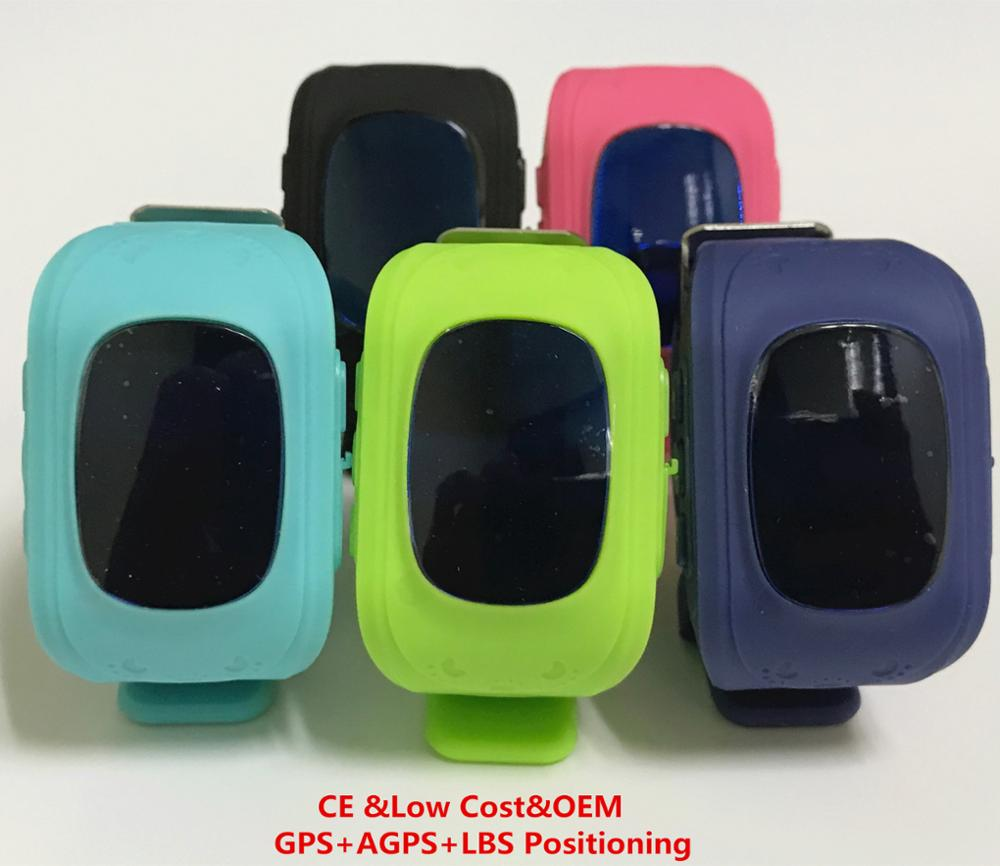 2017 Wholesale Custom Android Q50 Kid Baby Children GPS Tracker Smart Watch for Kids