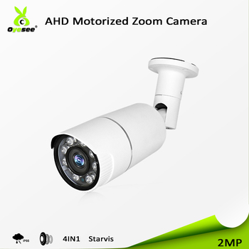 Competitive price security full 2mp 1080p bullet ahd camera starlight low illumination ip66 motorized lens 4 in 1 UTC for sale