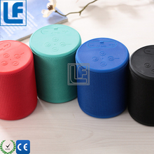 2017 Amazon hot product Custom Portable Speakers Fabric / Silicone Bluetoth Speakers And Loudspeakers