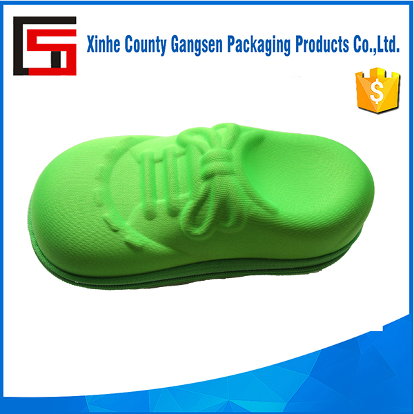 Customer Design Shoe ship EVA Sunglasses case for kids