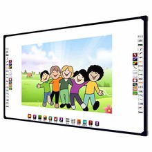 78'' to120'' IR / Optical / trace board interactive whiteboard