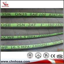 China supplier silicon rubber reinforced hose\pipe\tube